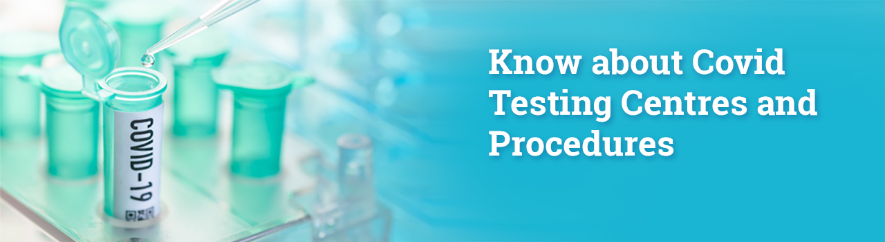 covid testing centers and procedures